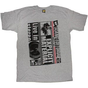 The Wu-Tang Brand T-Shirt - Slang Editorial Tee - Heather