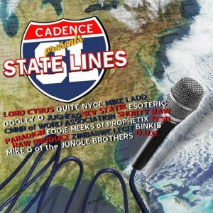 Cadence presents - State Lines - CD