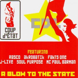 Coup d'Etat - A Blow To The State - CD