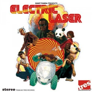 Giant Panda - Electric Laser - CD