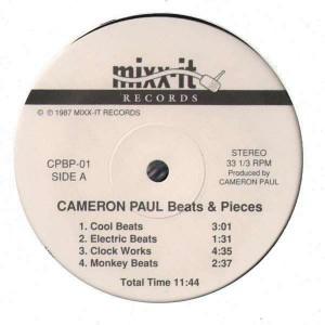 Cameron Paul - Beats & Pieces - Vinyl EP
