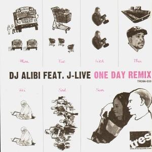 DJ Alibi - One day remix (feat. J-Live) / Ecology - 12''