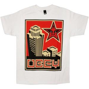 OBEY Basic T-shirt - Skyline - White