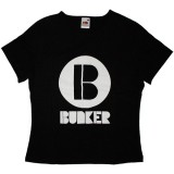 Bunker Sounds lady T-shirt - Logo - Black