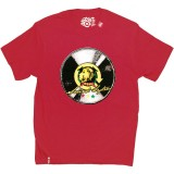 LRG T-shirt - LRG Sound System Tee - Red