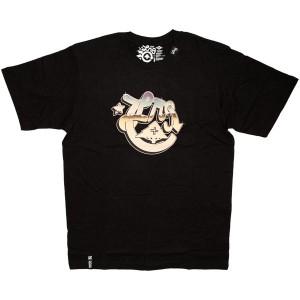 LRG T-shirt - LRG Starry Night Tee - Black