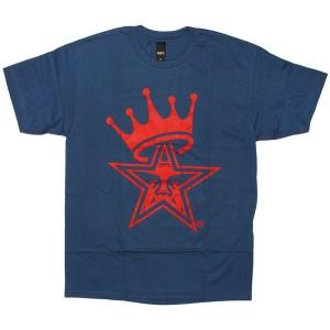 OBEY Basic T-shirt - Star Crown - Patrol Blue