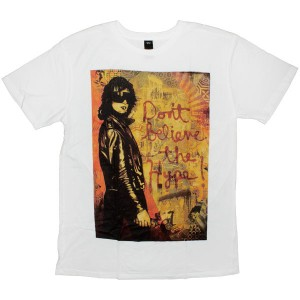 OBEY Thrift T-shirt - Hype Girl - White