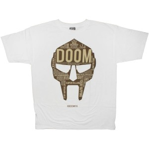 ROCKSMITH T-shirt - Doom Tee - White