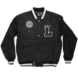 LRG Jacket - Class Of 47 Letterman - Black