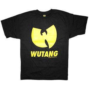 The Wu-Tang Brand T-Shirt - WBL Logo Tee - Black Yellow