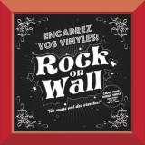 RockOnWall - Cadre pour disque vinyle - Rouge