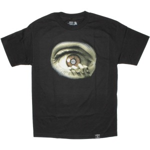 DISSIZIT! T-shirt - D Eye Tee - Black