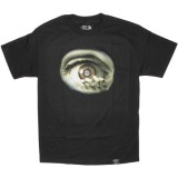 DISSIZIT ! T-shirt - D Eye Tee - Black
