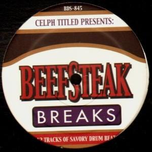 Celph Titled - Beefsteak Breaks - LP