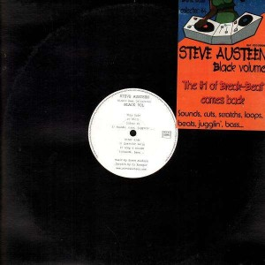 Steve Austeen - Black volume (feat. Dj Krooger) - LP