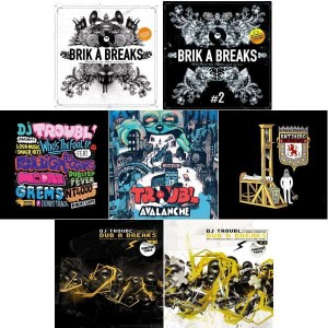 DJ Troubl - Pack Troubl - Pack 7LP