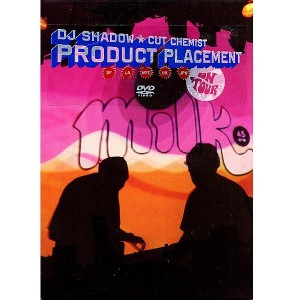 DJ Shadow & Cut Chemist - Product Placement On Tour - DVD