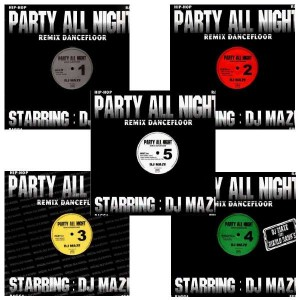 DJ Maze - Party All Night Pack - Pack 5LP