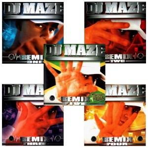 DJ Maze - Remix Pack - Pack 5LP