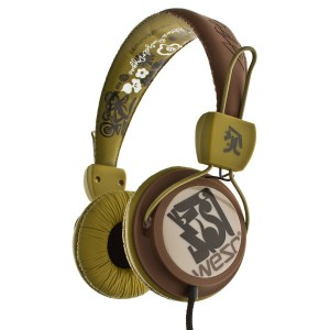 Wesc Headphone - Rusty Red Bongo Seasonal 2011