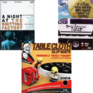 Pack Tablecloth DVD Ned hoddings - 2DVD + slipmats