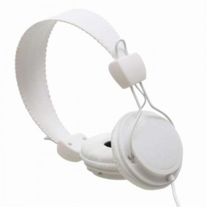 Wesc Headphone - White Matte Conga