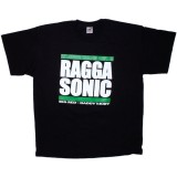 T-shirt Raggasonic - Big Red / Daddy Mory - Black