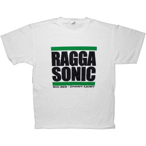 T-shirt Raggasonic - Big Red / Daddy Mory - White