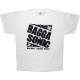 T-shirt Raggasonic - N&B Logo - White