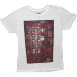 T-shirt Obey - Nubby Thrift Tees - Love Me 02 - White