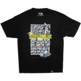 T-shirt Dissizit! - Fuckhooyalike Tee - Black