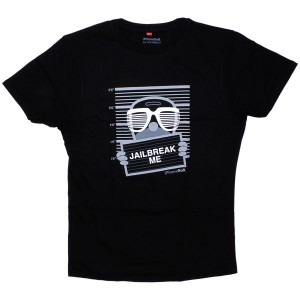 T-shirt iPhonesoft - Jailbreak Me - Black
