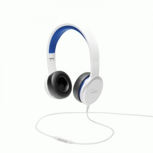 Casque Wesc Chambers by RZA - RZA Street Headphones - White/Blue