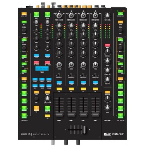 Table de mixage rane sixty eight temple of deejays - Table de mixage vinyle ...