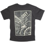 T-shirt Obey - Heather Tee - Noise In The Streets - Graphite