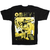 T-shirt Obey - Basic Tee - Obey Future - Black