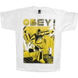 T-shirt Obey - Basic Tee - Obey Future - White