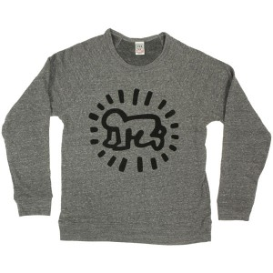 Sweat Obey - Tees Limited Series - Keith Haring: Baby - Heather Grey
