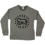 Sweat Obey - Tees Limited Series - Keith Haring : Baby - Heather Grey