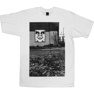 T-shirt Obey - Basic Tees - Pittsburgh Photo - White