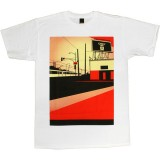 T-shirt Obey - Basic Tees - San Diego Billboard - White