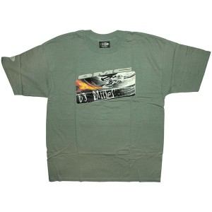 DMC T-Shirt - DMC Flame DJ Battle - Kahki