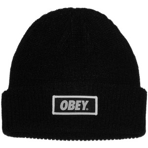 Bonnet Obey - Standard Issue Beanie - Black
