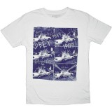 T-shirt Obey - Thrift Tee - Combat Collage - Light Grey