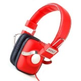 Wesc Headphone - True Red Maraca Seasonal