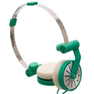 Wesc Headphone - Green Pick-up