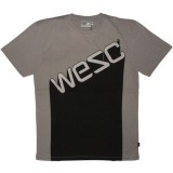 WESC T-shirt - Limestone Block Shadow