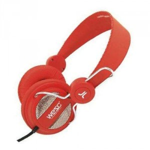 Casque Wesc - Hot Orange Oboe