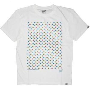 Scratch Science T-shirt - Diamond RVB - White